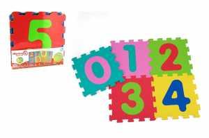 Vitamina G 05065 - Set Mattonelle Puzzle Numeri, 5 Pezzi