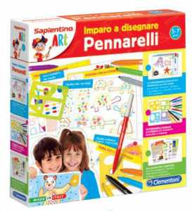 Clementoni 11971 - Sapientino Art Impara A Disegnare Con I Pennarelli