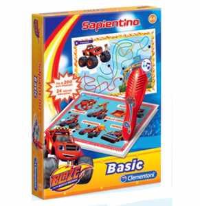 Clementoni 11600 - Penna Basic Blaze E Le Mega Macchine