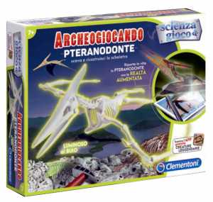 Clementoni 13973 - Archeogiocando Pteranodonte Luminoso Al Buio