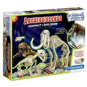 Scienza E Gioco 13985 - Archeogiocando Mammut & Smilodon