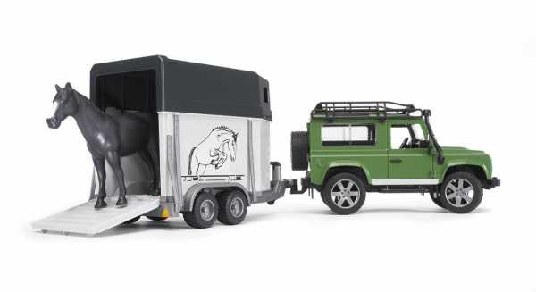 Bruder (02592) - LAND ROVER STATION WAGON E RIM