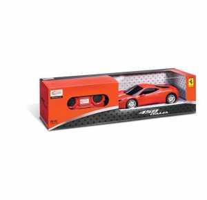 Mondo- R/C Ferrari 458 Italia 63121 Auto Gioco Maschio Bimbo Bambino Giocattolo 285, Multicolore, Scala 1:24, 8001011631216