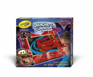 Crayola - Lavagnetta Luminosa Cars2