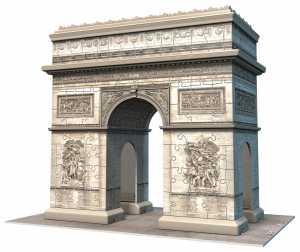 Ravensburger Italy 12514 2 - Puzzle 3D Arco Di Trionfo