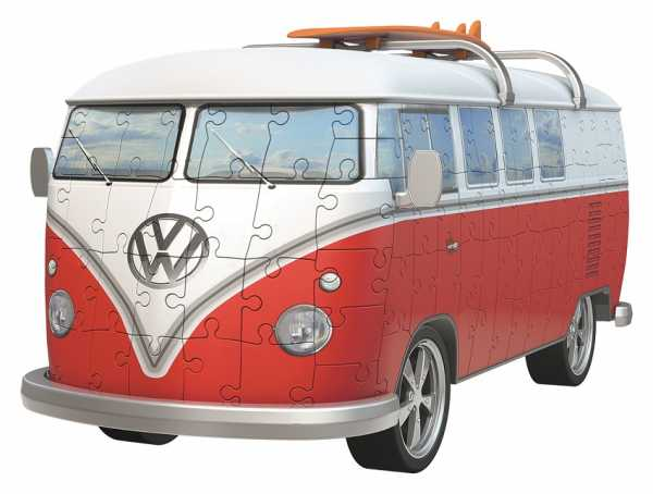 Ravensburger Italy Puzzle 3D Camper Volkswagen T1, 12516 6