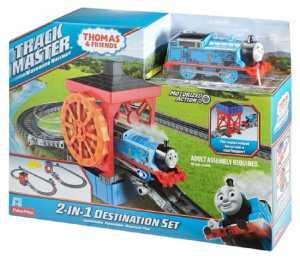 Il Trenino Thomas DVF71 Piste Destinazioni Multiple 2 In 1 TrackMaster