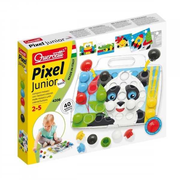 Quercetti - 4206 Pixel Junior Basic