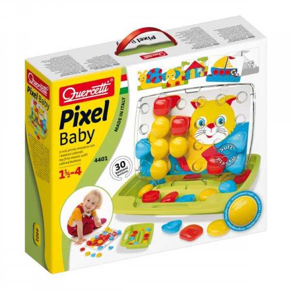 Quercetti-Quercetti-4401 Pixel Baby Premium, 4401
