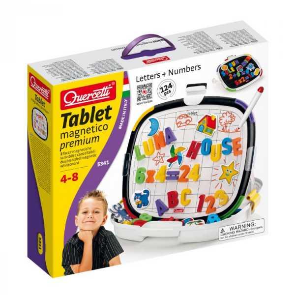 Quercetti Tablet Magnetico Premium, Multicolore, 827046
