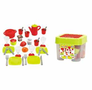 ECOIFFIER 4552630 Kitchen & Food - Role Play Toys (Playset, Kitchen & Food, Any Gender, Multicolour)
