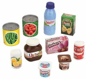 Ecoiffier 76000000953 - Cucina Generi Alimentari Retino Scatolame