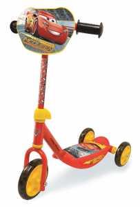 Smoby 7600750137 - Monopattino Tre Ruote Disney Cars 3