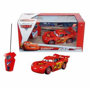 Majorette 213089568 - Radiocomando Cars Saetta McQueen 1:32 Monocanale