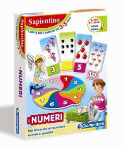 Clementoni 12895 - Sapientino Tessere Illustrate I Numeri