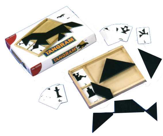 Dal Negro 53533 - Tangram Con Carte
