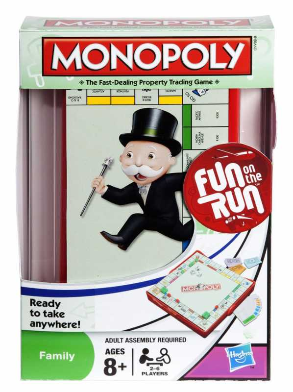 Hasbro B1002103 Monopoly Travel