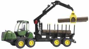 Bruder John Deere 1210E Forwarder By Bruder