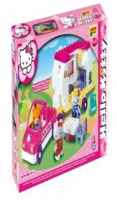 COSTRUZIONE Unico Hello Kitty-Auto Con Roulotte 47pz 8679