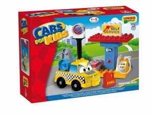 COSTRUZIONE Unico Cars For Kids-Carro Attrezzi 19pz 8566