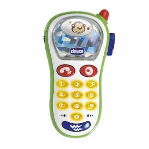 Chicco 60067 Telefonino Vibra E Scatta, Primo Telefono Con Luci E Suoni
