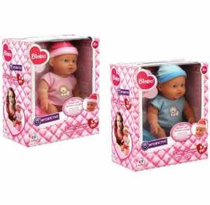 Globo Giocattoli Globo-36989bimbo Bevande/bagno E Piange Doll Con Barattoli E Bottiglie