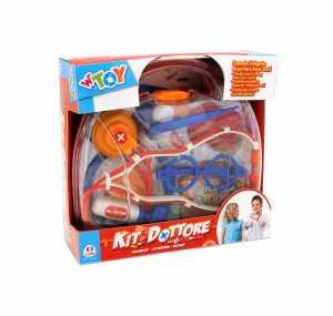 Globo Giocattoli 94.208,6cm W 'Toy Custodia In Plastica Doctor Set