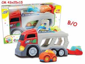 Teorema 63749 - Baby Camion Porta Auto Con 4 Macchine