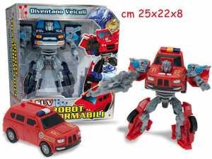 TEOREMA 63728 ROBOT TRASFORM. VEICOLI