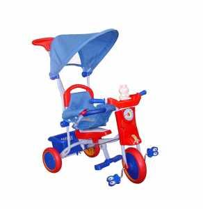 Toyland 52363 Triciclo Bubu, Rosso/Blu