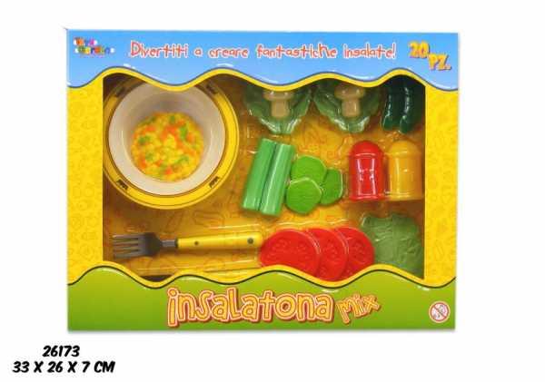 Scatola CUCINA PIATTO INSALATA - Toys Garden (26173)