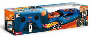 Hot Wheels 63255 - Macchinina Radiocomandata Drift Rod Buggy, In Scala 1:24, Colori Assortiti