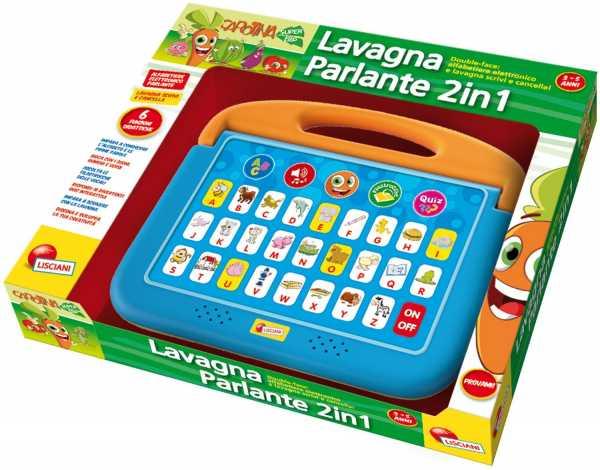 Lisciani 45907 - Edu System Lavagna Parlante 2 In 1