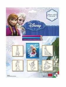 MULTIPRINT 5 Timbri Blister Disney Frozen 5883