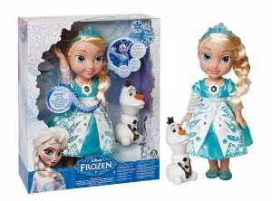 Giochi Preziosi Disney Frozen Principessa Elsa Ed Olaf Con Luci E Suoni
