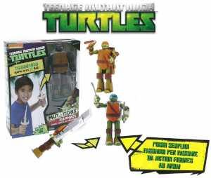 Turtles Super Deluxe Mutation In Arma 3 Soggetto/i Cm 18 (Tum01101)