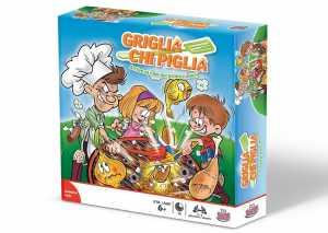 Grandi Giochi GG00180 - Griglia Chi Piglia, Gioco Da Tavolo