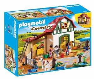 Playmobil Country 6927 Maneggio Dei Pony Con Animali E Fienile, Dai 4 Anni