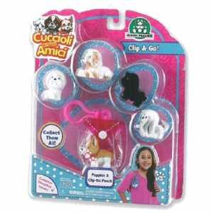 Cuccioli Cercamici Set 5 Pezzi E Porta Cuccioli (Pmp02000)