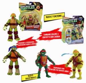 Turtles Personaggio:i Funzioni Speciali Cambia Colore 4 Mod (Tua67000)