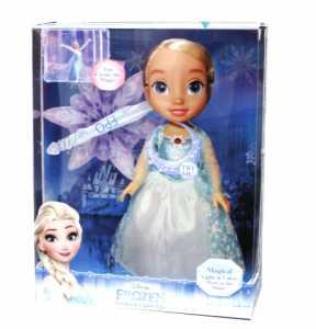 Giochi Preziosi - Frozen Bambola Elsa Luci Del Nord Interattiva Con Canzone, FRN35000