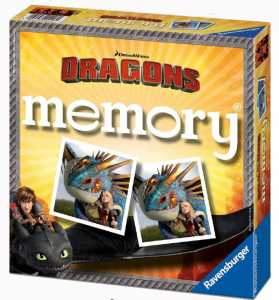 Ravensburger 21118 - Memory Dragons Gioco Di Memoria