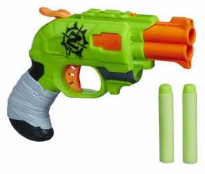 Pistola Giocattolo Nerf Zombie Strike Doublestrike Con 2 Freccette (1000046701)