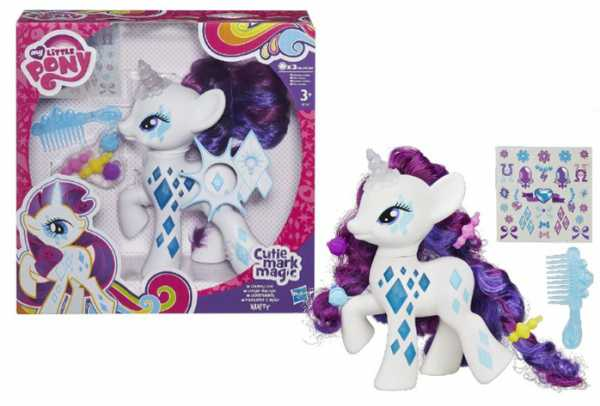 Hasbro B0367Eu4 - My Little Pony Cutie Mark Magic, Rarity