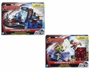 Avengers - Miniverse Playset, Modelli Assotiti