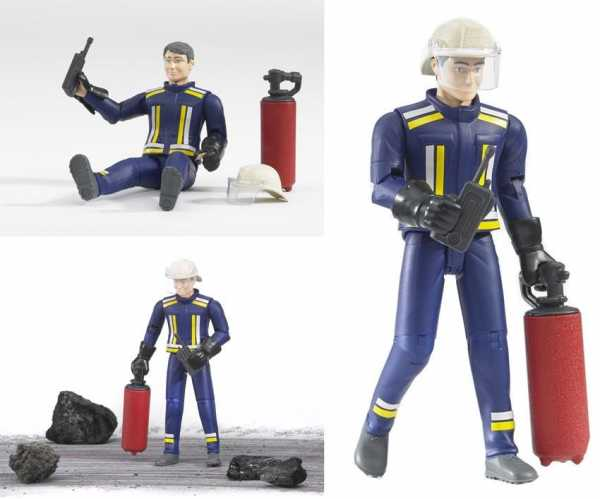 Fireman With Accessories