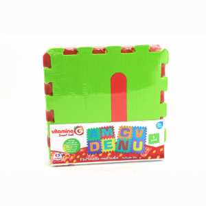 Vitamina G 05093 - Mattonelle Puzzle Lettere, 9 Pezzi [Lettere Assortite]