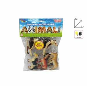 TOYS GARDEN Busta Animali Fattoria Con Suono 24689