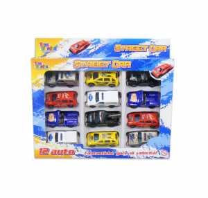Scatola AUTO DA STRADA 12 Pezzi - Toys Garden (26208)