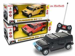 MACCHINA HUMMER SUV CON LUCI RADIOCOMANDATA GIOCATTOLO IDEA REGALO #PI 8017967639862